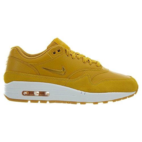 Nike Air Max 1 Premium Sc Kvinnor Guld Elementärt Goldelemental Guld