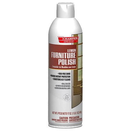 Champion Sprayon Furniture Polish - 17 oz. Net Wt. -(1 CASE) by Chase Products Co.