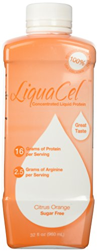 Liquacel Liquid Protein Sugar Free 32oz Orange Flavor (Best Grape Jello Shots)