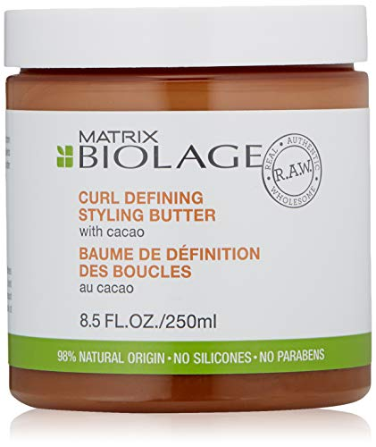 (BIOLAGE R.A.W. Curl Defining Hair Styling Butter with Cacao, 8.5 fl. oz.)