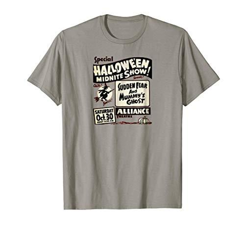 A Retro Halloween Spook Show T Shirt! It's