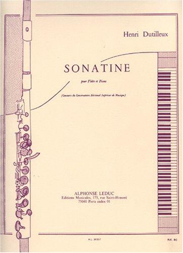 Sonatine pour Flute et Piano