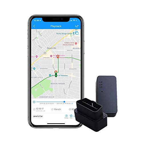 ShieldGPS Hidden GPS Tracker for Cars & Vehicles – OBDII Device for Tracking, Anti Theft and Surveillance