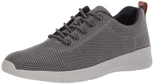 Dr. Scholl's Men's FREESTEP Shoe Sneaker, Grey Single Mesh, 8.5 M US