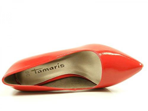Tamaris 1-22447-29 zapatos de tacón alto para mujer Rot