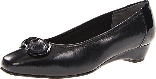 Footwear Walking Cradles (Walking Cradles Women's Bean Dress Pump,Black,7 M US)