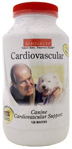 RESOURCES Canine Cardiovascular Support (Tablets 120), My Pet Supplies