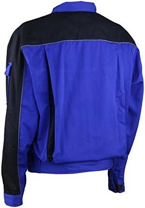 Arbeitsjacke Profi blau Gr 46-64 Berufsbekleidung Jacke Handwerker Beruf Gr.46