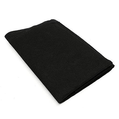 DSstyles - Filtro purificador de Aire Acondicionado de carbón Activado HEPA,Color Negro, 15mm