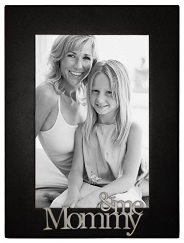Malden International Designs Mommy and Me Expressions Picture Frame, 4x6, Black (Mommy Photo Frame)