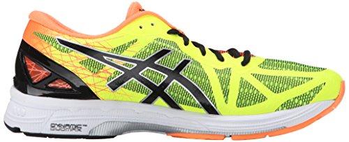 Asics Mens Gel DS Trainer 21 Running Shoe Flash Yellow/Black/Hot Orange