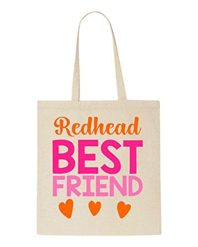 Bff Redhead Statement Best Bag Beige Matching Friend Shopper Tote Friends TCC1Eqwx