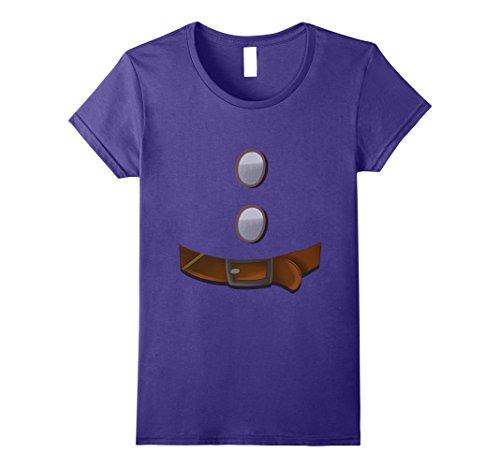 Womens Halloween Party Group Matching Dwarf Shirt for Teacher Team Medium Purple