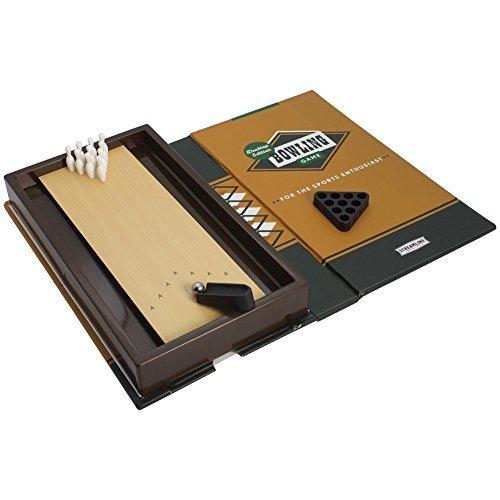 Desktop Edition Mini Bowling Game Book-Sized Fun For The Sports Enthusiast