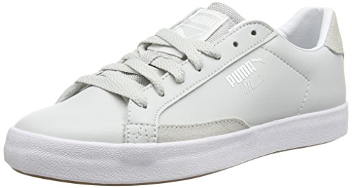 Puma Match Vulc Modern Heritage - zapatilla deportiva de material sintético Unisex adulto gris - Grau (glacier gray-white-gum 03)