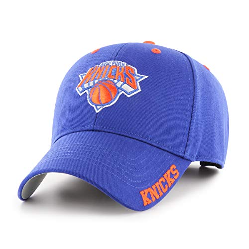 NBA New York Knicks NBA Blight OTS All-Star Adjustable Hat, Team Color, One Size
