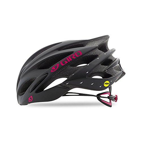 Giro Sonnet MIPS Womens Cycling Helmet Matte Black/Bright Pink Medium (55-59 cm) ()