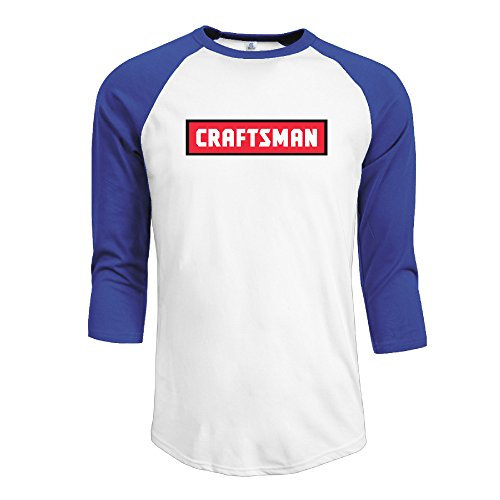 MYKKI I Am Craftsman Men's Soft Shirt L RoyalBlue