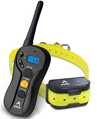 PATPET-Dog-Training-collar-Blind-Operation-Shock-Collar-for-Training-Dog-Rechargeable-and-Waterproof-660yd-Remote-E-Collar-with-Separate-Command-ButtonsFit-for-15-100-lb