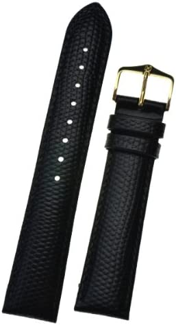 bracelet cuir noir 18mm