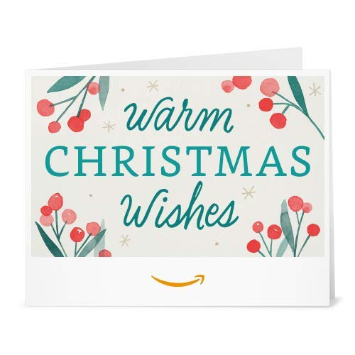 (Amazon Gift Card - Print - Warm Christmas Wishes)