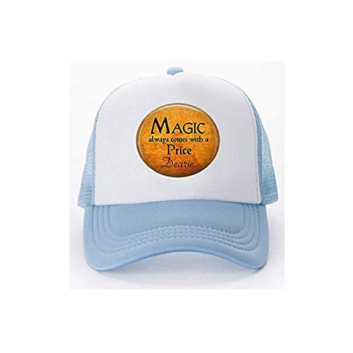 Halloween Costume Jewelry-Magic Always Comes a Price Dearie-Rumpelstiltskin Quote-Once Upon a Time-Magic Spell Baseball caps Golf Caps hat Literary Jewelry -