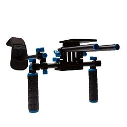 StudioPRO DSLR Camcorder Movie Shoulder Mount Stabilizer Rig 1 Support System with Two Handles