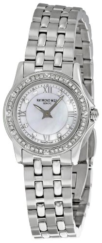 Women's  Tango Mother-of-Pearl Dial Watch - Raymond Weil 5790-STS-00995
