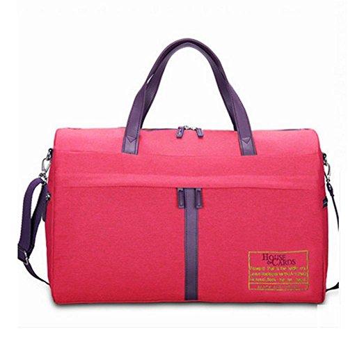 BUSL De gran capacidad de la bolsa portátil bandolera equipaje de mano de repelente al agua . d c