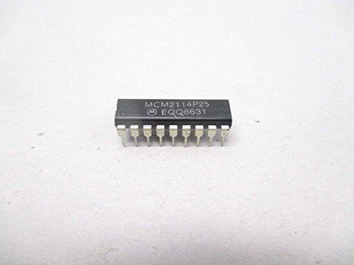 NEW MOTOROLA MCM2114P25 EQQ8631 4096 BIT STATIC RAM MEMORY D476678 ()