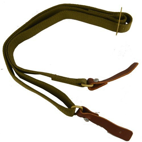 Ultimate Arms Gear Two QD Quick Detach 1'' Slot Loop 0.5'' & 0.75'' Wood Screws Studs Swivels + Canvas Leather Tabs Sling, Tan Ruger 1022, 10/22 10-22, Mini-14, SR556, SR-556, SR22, SR-22 Rifle by Ultimate Arms Gear (Image #7)