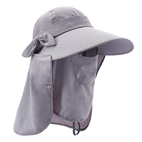 FURTALK Outdoor Summer Fishing Sun Hat Visors Flap Caps Garden Hats for Women