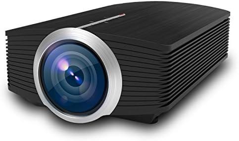 Mini proyector Full HD, 1800 lúmenes Mini proyector LCD Proyector ...