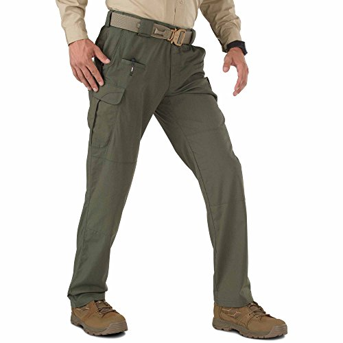 (5.11 Men's STRYKE Tactical Cargo Pant with Flex-Tac, Style 74369, TDU Green, 32W x 30L)