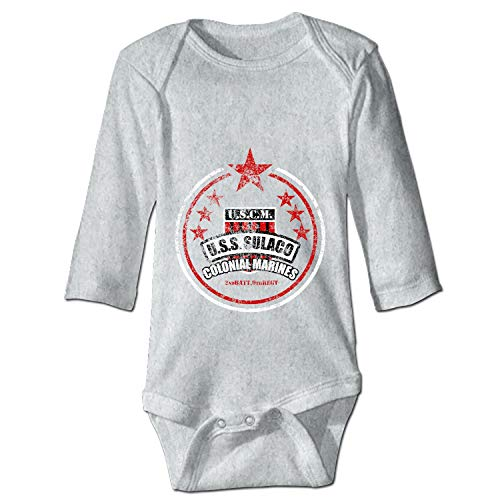 YSKHDBC USCM USS Sulaco Colonial Marines Unisex Baby Bodysuits Long Sleeve 100% Cotton