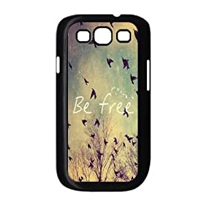 Be Free New Fashion DIY Phone Case for Samsung Galaxy S3 I9300,customized cover case ygtg580158