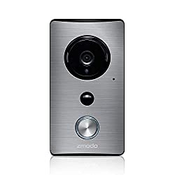 Zmodo Smart Greet Wi-Fi Video Doorbell - Cloud Service Available
