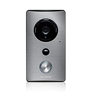 Zmodo Smart Greet Wi-Fi Video Doorbell - Cloud Service Available (existing doorbell wiring required)