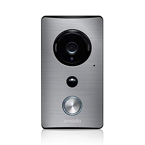 Zmodo Smart Greet - Wi-Fi Video Doorbell - 155° Viewing Angle - Cloud Service Available