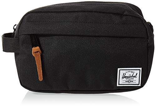 Herschel Chapter Toiletry Kit, Black, Carry-On 3L