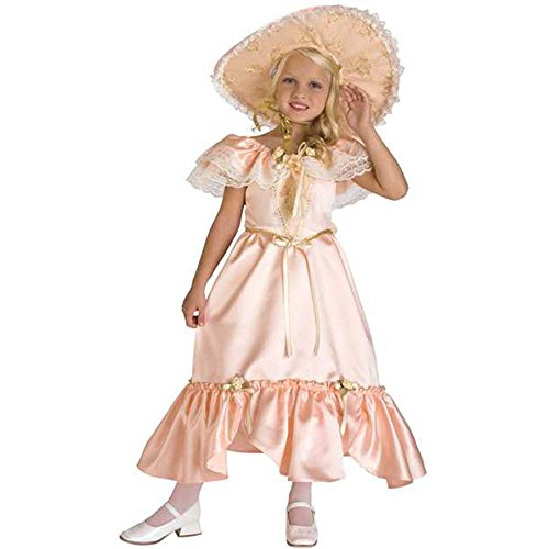 [Girl's Southern Bell Costume (Size:Small 4-6)] (Southern Belle Child Halloween Costume)