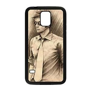 Doctor Who 50th Anniversary Funda Samsung Galaxy S5 Funda Caja del teléfono celular Negro A7W2DA