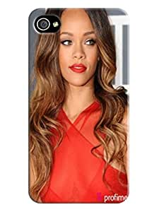 Newest extreme shockproof tpu phone case cover with cartoon for iphone4(Rihanna) by Kathleen Kaparski