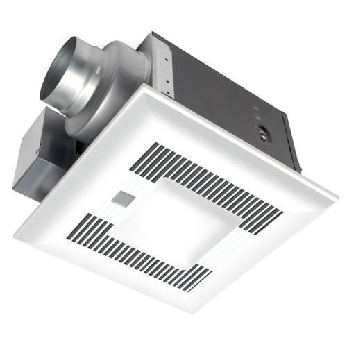 Panasonic Bathroom Fan, 80 CFM WhisperGreenLED Ceiling Mount