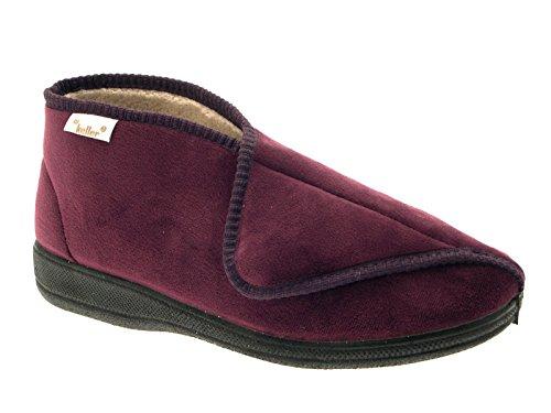 LD Outlet - Zapatillas de estar por casa para mujer morado