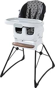 Fisher-Price Jonathan Adler Deluxe High Chair, Black/White