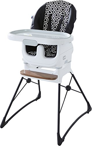 Fisher-Price Jonathan Adler Deluxe High Chair, Black/White (Chair High Girls Price Fisher)