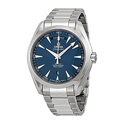 Omega Aqua Terra Blue Dial Stainless Steel Mens Watch 231.10.42.22.03.001 by Omega