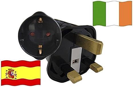 Adaptador de viaje de vacaciones para dispositivos de España, con ...