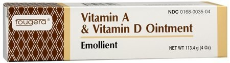 E Fougera Ointment Vitamins A & D, 4 oz Tube Case of 48